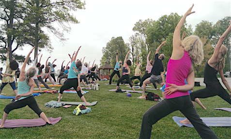 Renaissance Yoga Outdoor Yoga Festival Yoga Festival - Sat, May 7 Maryland