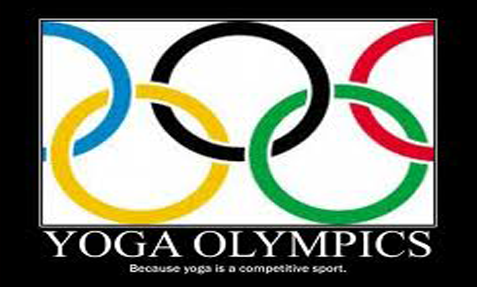 The top ten reasons why yoga should not become an Olympic event...